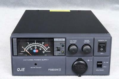 Switching DC Power Supply QJE PS60SWIII 60-62 amp 9-15v  PSU