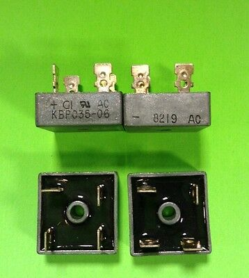 Kbpc35-06 35Amp 600V Diode Bridge Rectifier Lot Of 4