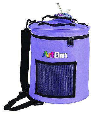 Artbin - Periwinkle Yarn Drum 12 x 12.75 inch (30 x 32cm) Holds 8 Balls Of Wool!