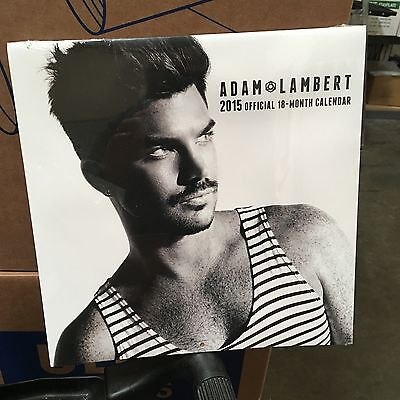 Adam Lambert 2015 Official 18- Month Calendar