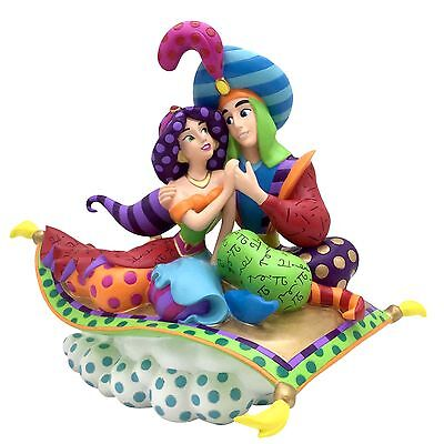 Disney Britto 4055689 Aladdin 25th Anniversary Figurine New & Boxed