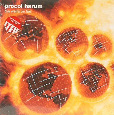 THE WELL'S ON FIRE  PROCOL HARUM Vinyl Record