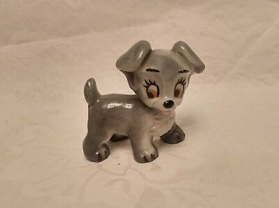 Wade Lady and the Tramp Figure - Scamp with blue back stamp