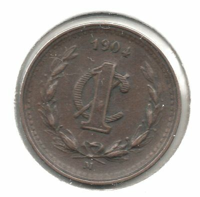 Nice 1904 Mexico 1 Centavos Buy it Now