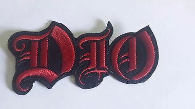 Dio Logo Iron On Embroidered Patch