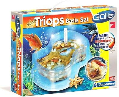 Galileo original Triops Basis Set von Clementoni - NEU & OVP