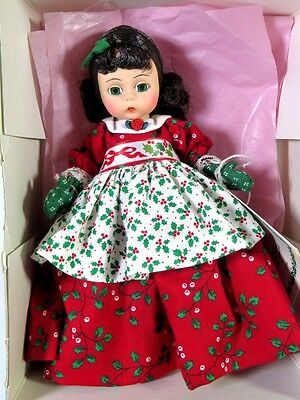 "Boxed Madame Alexander Doll 8"" 'lil Christmas Cookie #341"