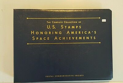 Complete Collection Of U.s. Stamps Honoring America's Space Achievements