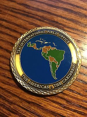 U.S. Department Of State Caribbean Operations Service Coin
