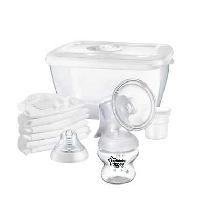 Tommee Tippee Breast Pump Manual Closer Nature New Feeding Baby Top Quality