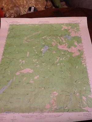 1956 DEPT OF INTERIOR TOPO MAP LOT 26 Silver Lake, Calif.  Twin Lake Reservoir