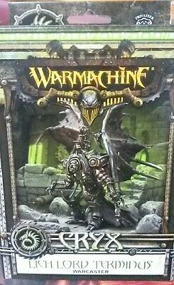 Cryx Lich Lord Terminus Warcaster Warmachine 34034 Sealed Miniatures