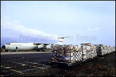 USAF C-141 Starlifter 437th MAW From Charleston AFB 1982 8x12 Aircraft Photos