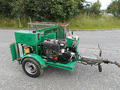 2007 SEB cable pulling diesel electric start fairy capstan winch INCLUDES VAT