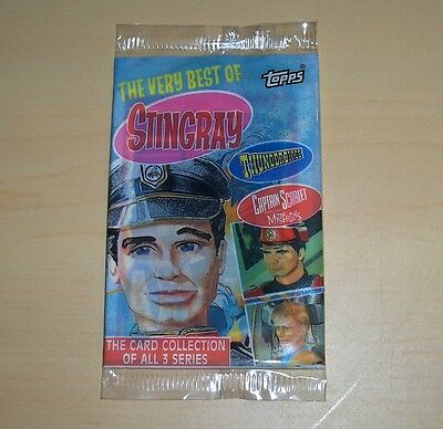 Thunderbirds Trading Cards Topps 1993. 1 unopened Pack.