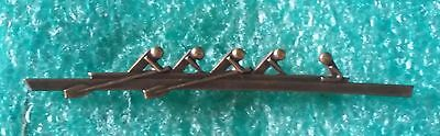 Polish Four Rowing With Coxswain 60'years Poland Bronze Version - Old Pin Badge