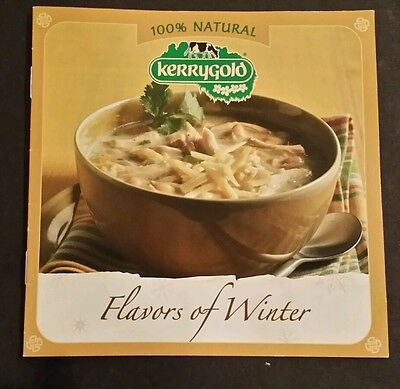"""100% Natural Kerrygold """"flavors Of Winter"""" Recipe Booklet From Ireland"""