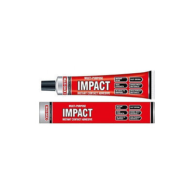 Evo Stick Impact Instant Contact Adhesive Multi Purpose Glue High Strength 65g