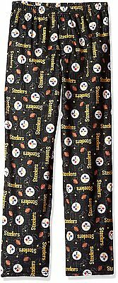 Gerber NFL Pittsburgh Steelers Youth Kids Black Pajama Lounge Pants Bottoms
