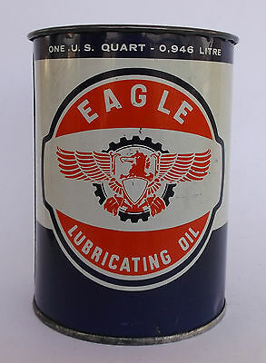 """""""eagle Lubricating Oil"""" Can/tin"""
