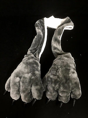 Animal Costume Scarf Skin & Claws Design WITH Hand Pockets Glove Party Costumes