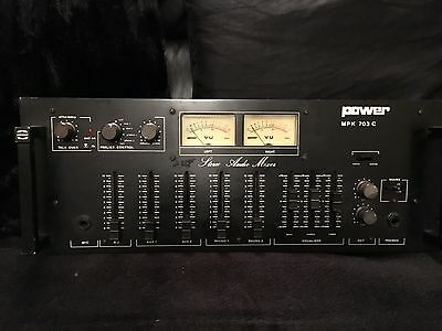 Power Mpk 703C Analogue Vintage Mixer 1980's