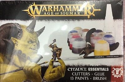 Free UK Shipping! Age Of Sigmas Essentials Paint/Starter Set - New And Sealed!