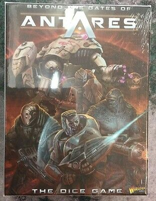 Free UK Shipping! Beyond The Gates Of Antares Dice Game With Ltd Ed Mini.