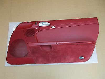 08 Boxster S Limited EDITION LE SPYDER Porsche 987 R INTERIOR DOOR PANEL 68,494
