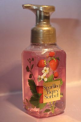1 Bath Body Works Sparkling Berry Sorbet Gentle Foaming Hand Soap Wash 8.75 Oz