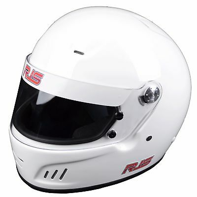 Rjs Racing New Snell Sa2015 Full Face Pro Helmet Scca Imsa Ihra White Small