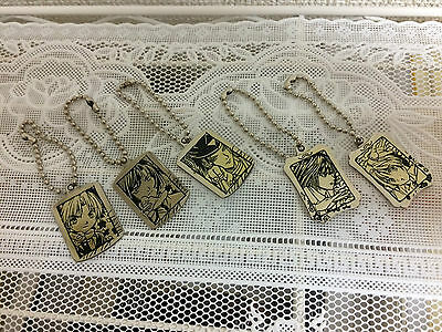RARE! Hikaru no Go Metal Keychains Set of 5 Official From Japan