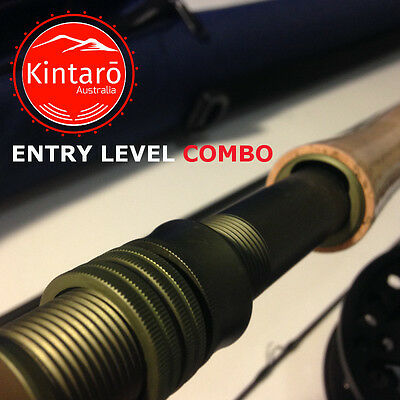 Entry Level Fly Fishing Combo, Rod, Reel, Cases, Lines, Tools and Flies