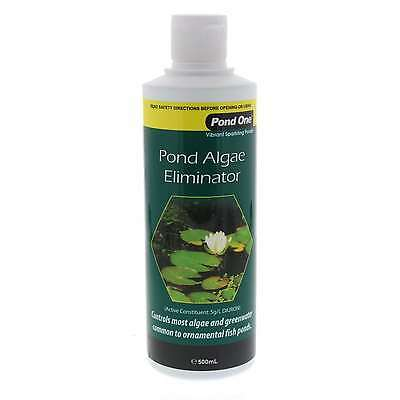 Aquarium Treatment Pond Algae Eliminator 500ml Fish Tank 93303 Aqua One