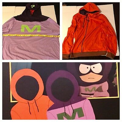 South Park Kenny Mysterion Reversible Hoodie 20th Anvy Loot Crate 3XL+Safe Space