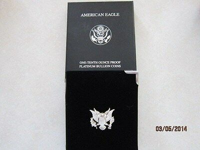 2006 W 1/10 Ounce Proof Platinum  American Eagle