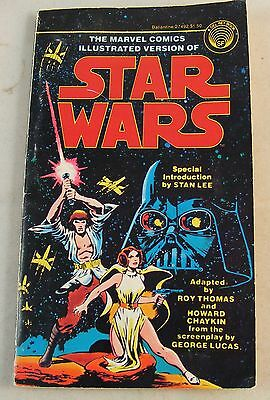 1977 Marvel Comics Illustrated Version of STAR WARS Intro by STAN LEE 1st Ed.