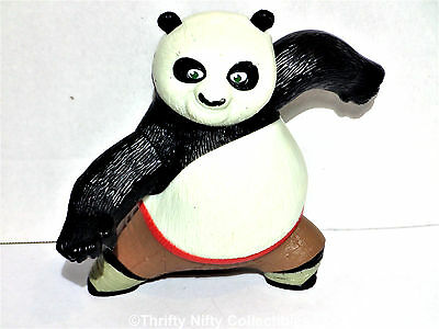 "2008 Po the Panda 5"" McDonald's Happy Meal Action Figure #1 Kung Fu Panda Topper"