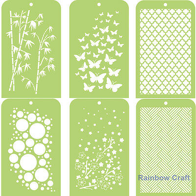 Kaisercraft Mini Designer Templates Stencils Christmas Holly Leaves 30 designs