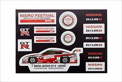 NISSAN NISMO FESTIVAL 2016 Limited Sticker Nissan official product