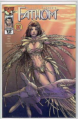 Michael Turner's Fathom #12 Dynamic Forces Exclusive Cover Limited To 10,000 Coa