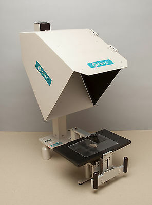 OPTISPEC ME5900 Optical Inspection Projector Comparator - 35mm Schneider Lens