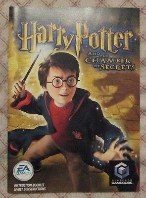 Nintendo Gamecube - Harry Potter and the chamber of secrets (French manual only)
