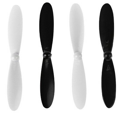 4x Original 55mm CW CCW propeller blades for HUBSAN X4 H107C/D/L H108C QX90