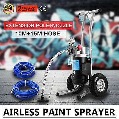 NEW 3190 PSI Professional Airless Paint Sprayer 220bar stand model 3.5HP Set