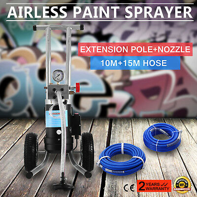 NEW 210bar 3190 PSI AIRLESS PAINT SPRAYER SPRAY GUN SPRAYER MACHINE