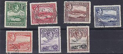 Antigua  1938 - 51  S G 98 - 105  Various Values To 1/- Used