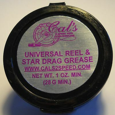 Cal's Universal Reel & Star Drag Grease Light - Rollenfett  /  39,25 €/100 g