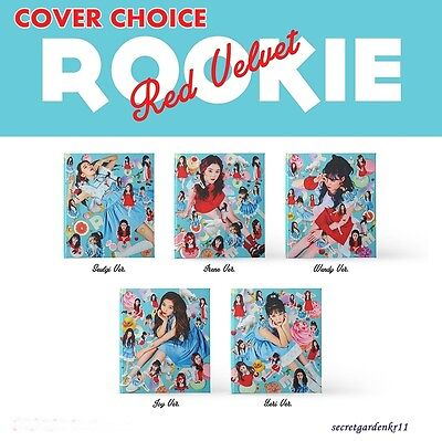 RED VELVET ROOKIE 4th Mini Album [ COVER CHOICE ] : CD+Photocard+Poster+Gift,New