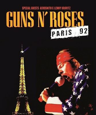 Guns n Roses - Paris 92 (Special Guests Aerosmith & Lenny Kravitz) DVD